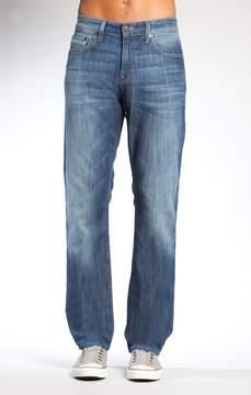 Mavi Jeans Myles Straight Leg In Mid Yaletown