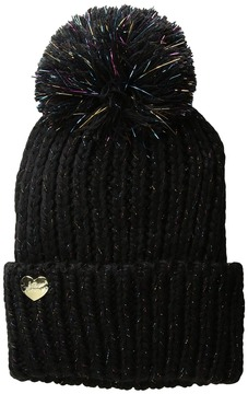 Betsey Johnson Firewerk Cuff Hat Beanies