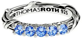Peter Thomas Roth Signature Classic Silver 0.50 Ct. Tw. Ceylon Sapphire Ring