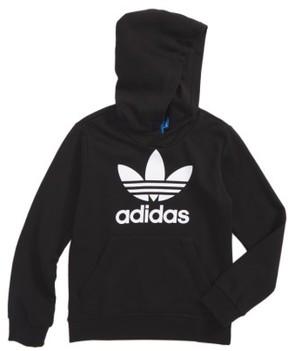 adidas Girl's Trefoil Logo Hoodie