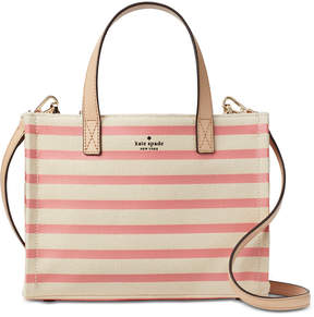 Kate Spade Canvas Sam Small Satchel - PEACH SHERBET - STYLE