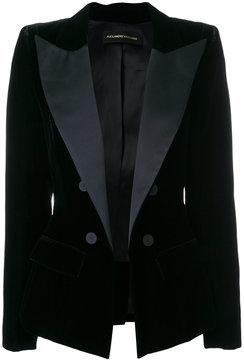 Alexandre Vauthier contrast blazer