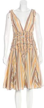 Matthew Williamson Sleeveless Midi Dress