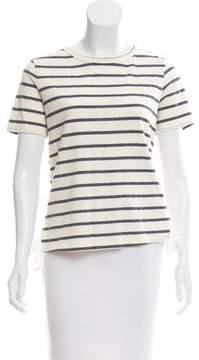 Clu Stripe Short Sleeve Top