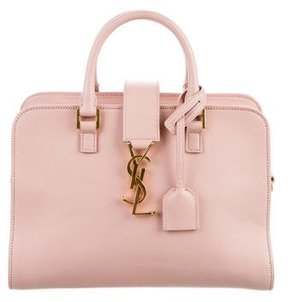 Saint Laurent 2015 Baby Monogram Cabas w/ Tags - PINK - STYLE