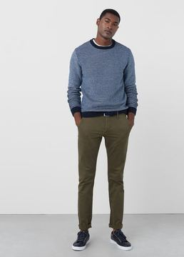 Mango Outlet Slim-fit canvas chinos