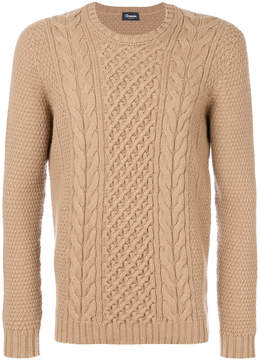 Drumohr cable knit textured sweater
