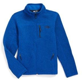 The North Face Boy's Gordon Lyons Sweater Fleece Zip Jacket