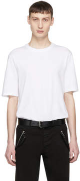 Helmut Lang White Standard Fit T-Shirt