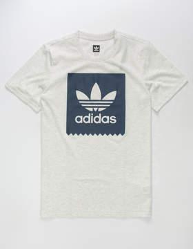 adidas Solid Blackbird Mens T-Shirt