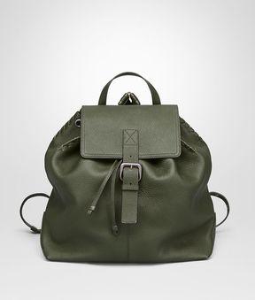 Bottega Veneta Backpack In Moss Cervo