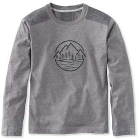 L.L. Bean Boys' Pathfinder Tee, Long-Sleeve Graphic