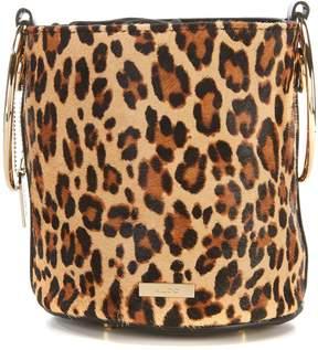 Aldo Cadiawien Leopard Print Bucket Bag