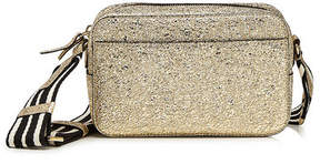 RED Valentino Metallic Leather Shoulder Bag