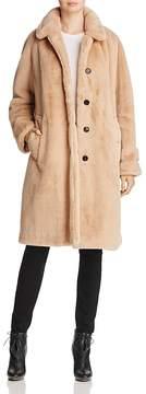 Burberry Faux-Fur Coat
