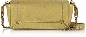 Jerome Dreyfuss Golden Leather Bob Shoulder Bag