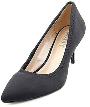 DKNY Eviey Women Pointed Toe Leather Heels.