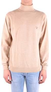 Gant Men's Beige Wool Sweatshirt.