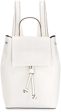 French Connection Carmen Faux-Leather Backpack, White