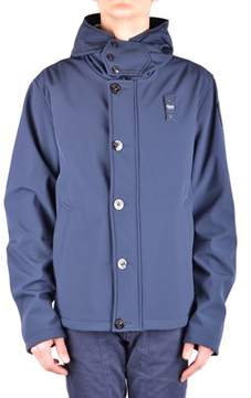 Blauer Men's Blue Polyester Jacket.