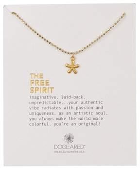 Dogeared 14K Gold Vermeil The Free Spirit Groovy Flower Necklace