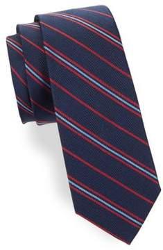 Lord & Taylor Boy's Silk Tri-Tone Tie