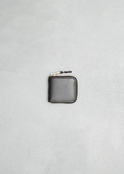 Comme des Garcons WALLET black classic leather line coin purse