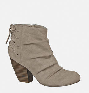 Avenue Tammy Ruched Lace Back Bootie