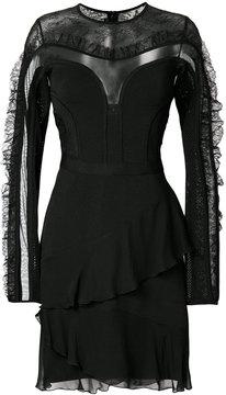 Elie Saab sheer panel dress