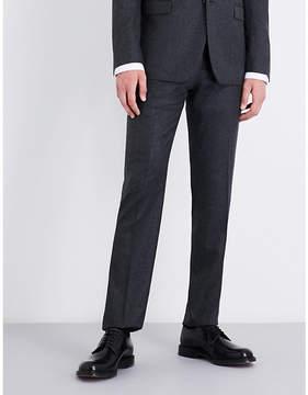 Joseph Jack regular-fit wool-flannel trousers