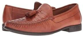 Johnston & Murphy Mens Cresswell Leather Closed Toe Slip On Shoes.
