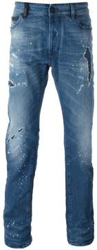 Marcelo Burlon County of Milan distressed jeans