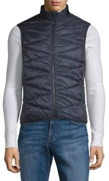 Orlebar Brown Quilted Zip Front Gilet