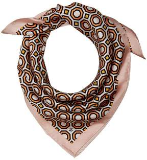 Tory Burch Octagon Silk Neckerchief Scarves
