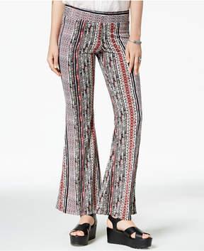 BCX Juniors' Striped Flared Pants