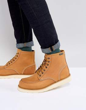 Eastland Lumber Up Nubuck Boots In Wheat