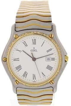 Ebel Sportwave 183903 Two Tone w/ Diamonds Unisex Watch