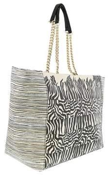 Roberto Cavalli Printme 005 Sand/black Shopping Bag