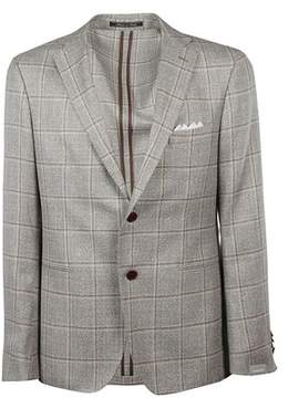 Cantarelli Men's 1182325821301 Grey Wool Blazer.