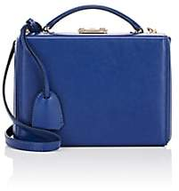 Mark Cross Women's Grace Small Leather Box-Blue
