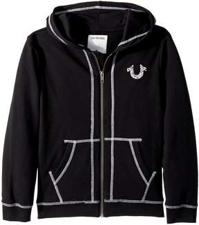 True Religion Shoestring Horseshoe Hoodie Boy's Sweatshirt