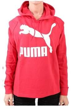 Puma Women's Red Cotton Sweatshirt.