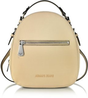 Armani Jeans Small Eco Leather Backpack