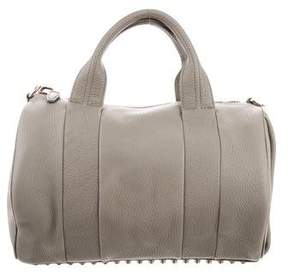 Alexander Wang Grained Leather Rocco Satchel