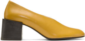 Acne Studios Yellow Sully Heels