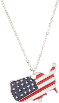 Carole Stars & Stripes USA Pendant Necklace