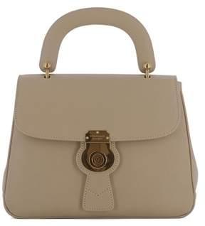 Burberry Women's Beige Leather Handbag. - BROWN - STYLE