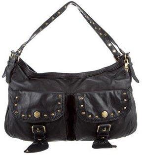 Marc Jacobs Leather Shoulder Bag - BLACK - STYLE