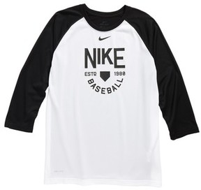 Nike Boy's Dry Legend Baseball T-Shirt