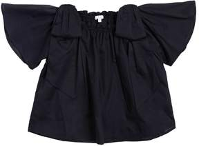 Chloé Cotton Muslin Shirt W/ Bows